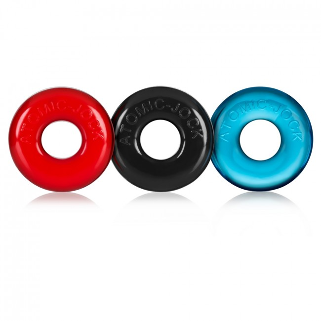 Oxballs Ringer 3 Pack Multi Small