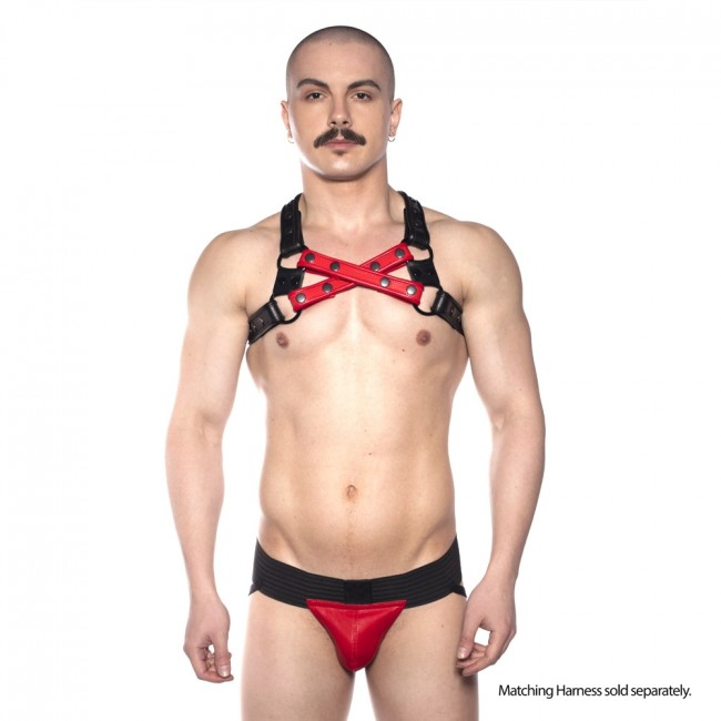 Prowler RED Pouch Jock Black/Red