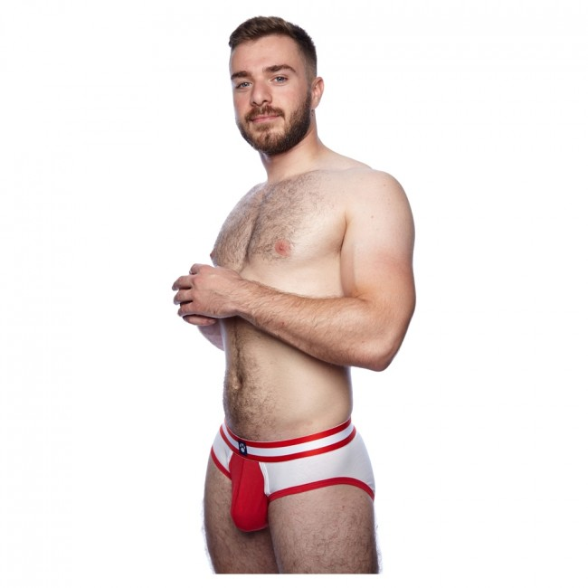 Prowler Classic Sports Brief White/Red