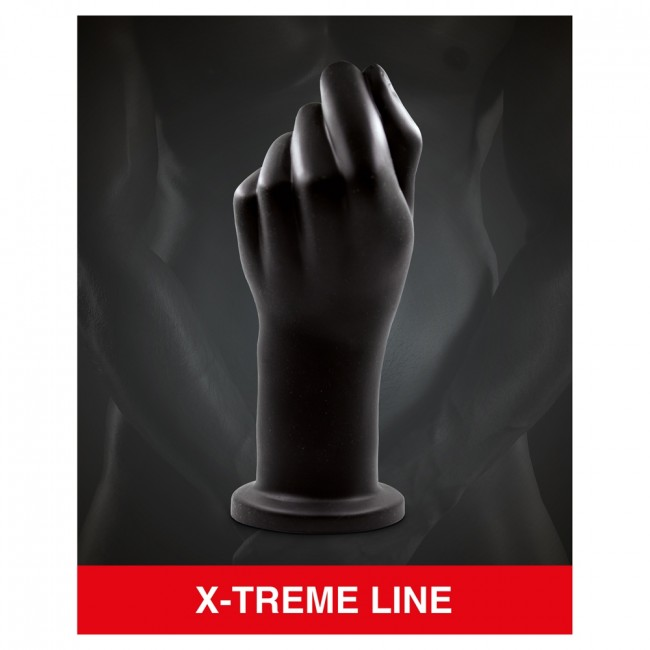Mr Cock X-Treme Line Fist Black 22cm