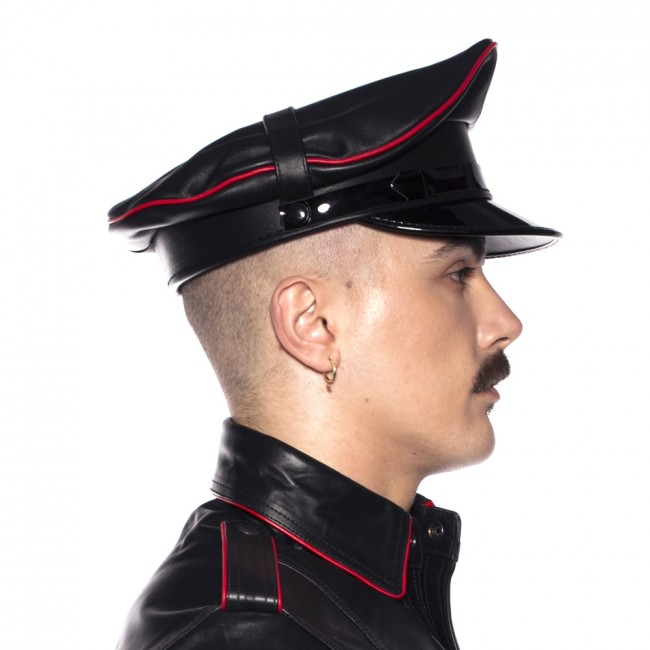 Prowler RED Military Cap Black/Red
