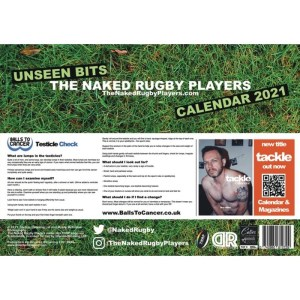 The Naked Rugby Players calendar back page