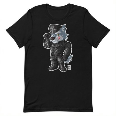LEATHER WOLF T-SHIRT