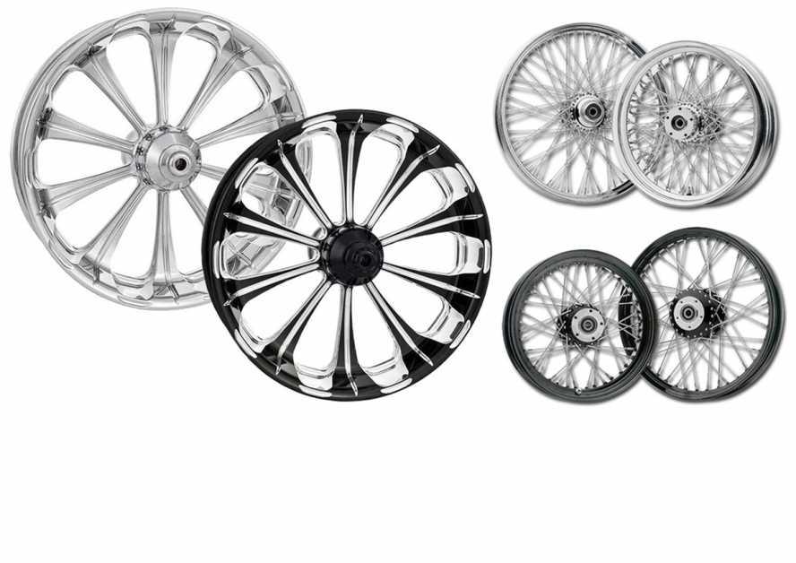 Custom ChromeWheels & Rims at Thunderbike Shop