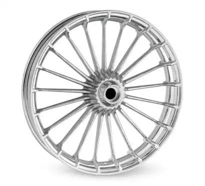 40900057 Turbine Custom Wheel 18x8.00 Rear, Chrome at