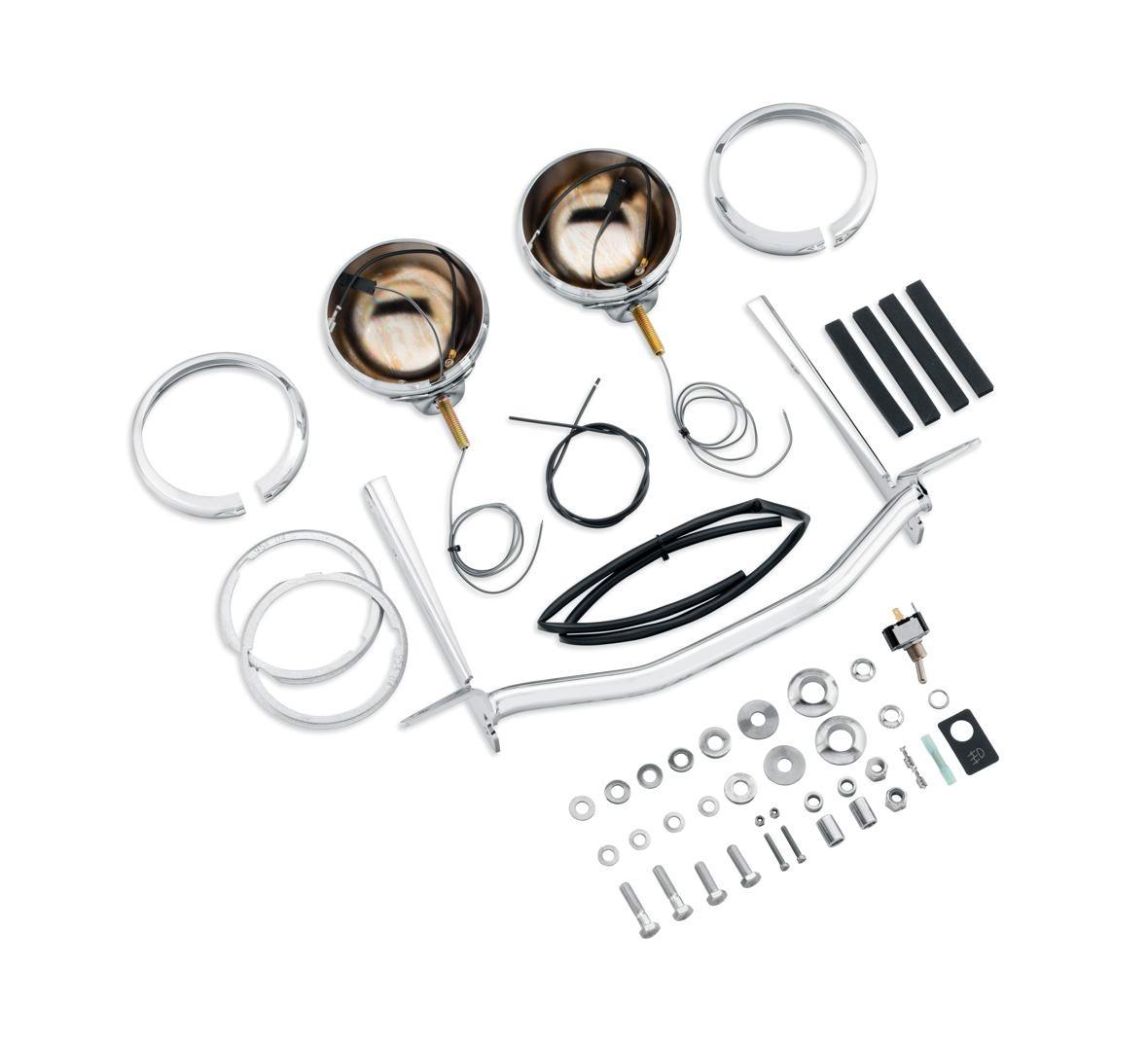 69287-07 Auxiliary Lighting Kit chrome at Thunderbike Shop