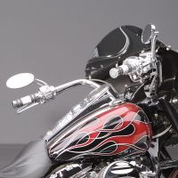 Arlen Ness Oval Stepped Mirror at Thunderbike Shop
