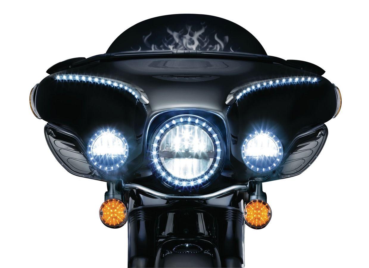 Thunderbike Shop Kuryakyn 3-1/4 Flat LED Front Turn Signal