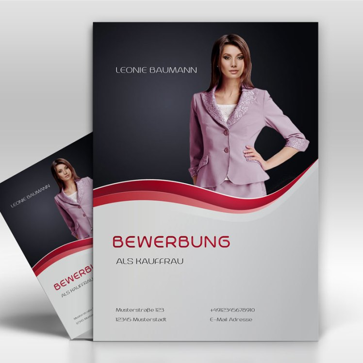 Dekcblatt- TopDesign24 - Musterbewerbung