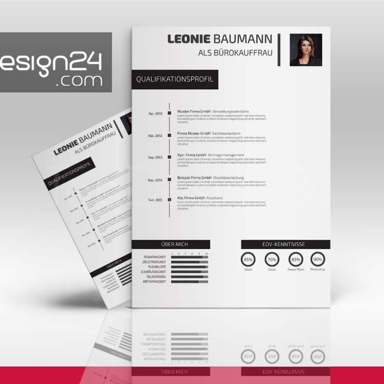 Bewerbung Design word dowload