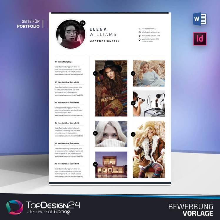Bewerbung Portfolio TopDesign24