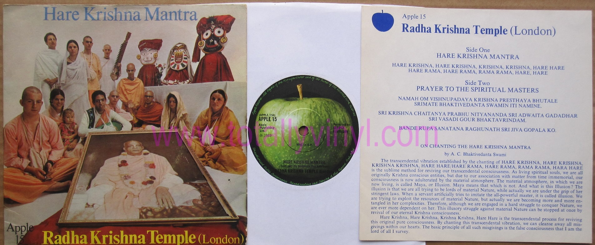 Totally Vinyl Records Radha Krishna Temple London