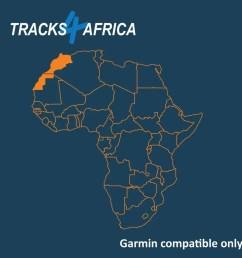 north west africa garmin gps  [ 900 x 900 Pixel ]