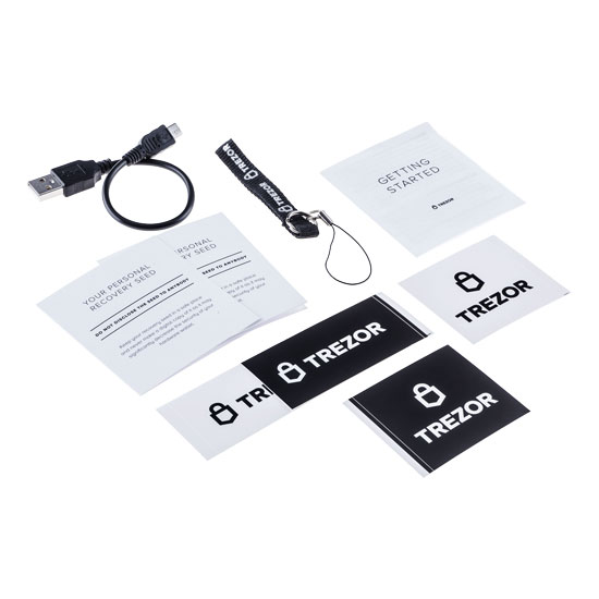 Trezor packaging