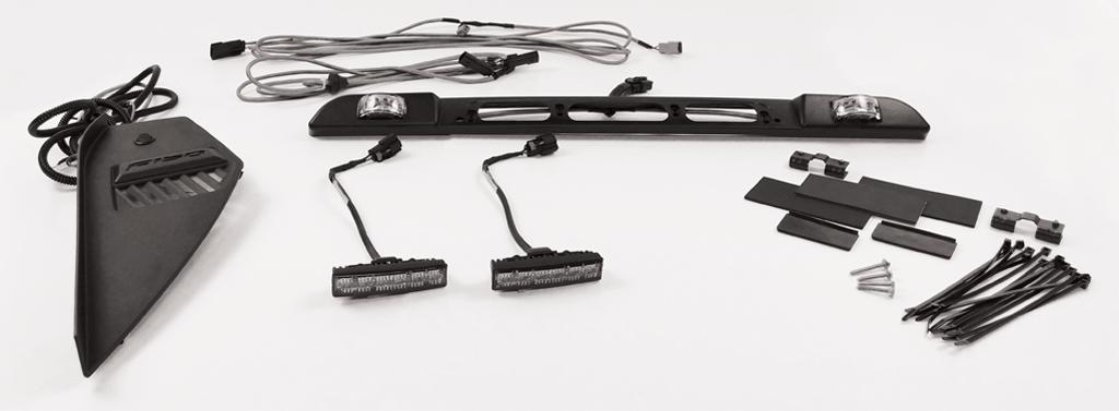 SoundOff Signal F150 Four Corner Strobe Kit 1517