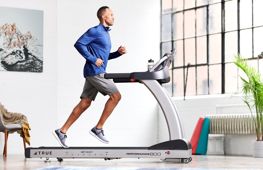 Accessorize your treadmill workouts with residential fitness equipment.