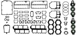 Gasket Kit Johnson & Evinrude 150-235hp 1975-1992 Replaces