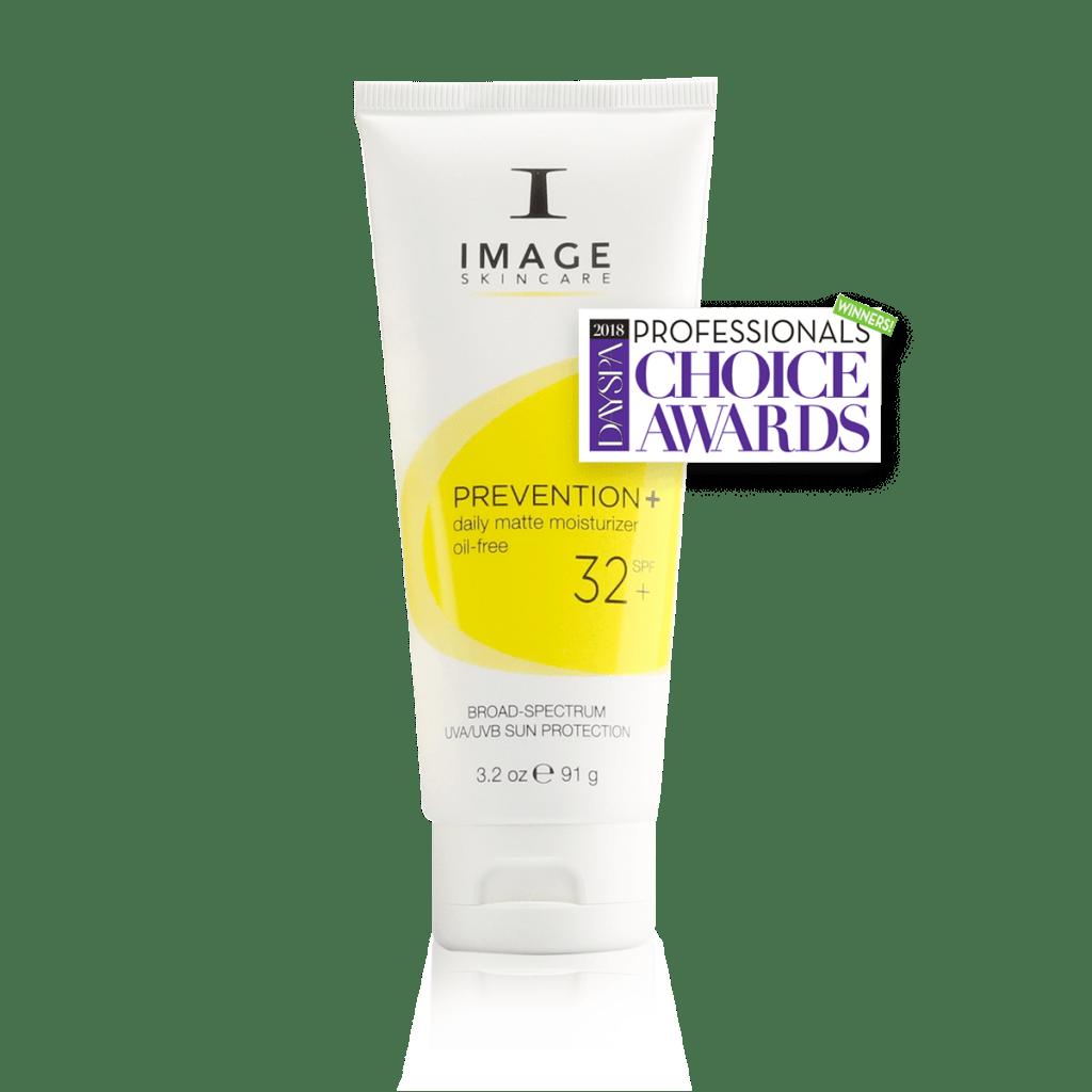 IMAGE Skincare SPF Sunscreen Professional skin moisturizer PREVENTION+ daily matte moisturizer SPF 32+
