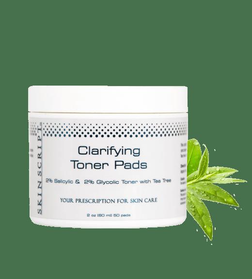 Skin Script Exfoliant: Clarifying Toner Pads