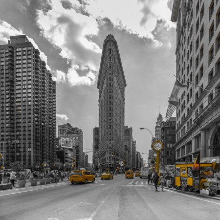 New York Skyline foto - Flatiron Building