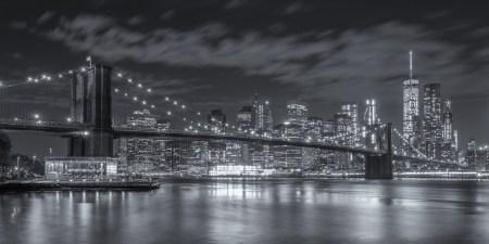 New York Skyline foto - Brooklyn Bridge   Tux Photography