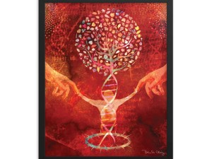 The Tree of Life Framed poster by Brenda Craig