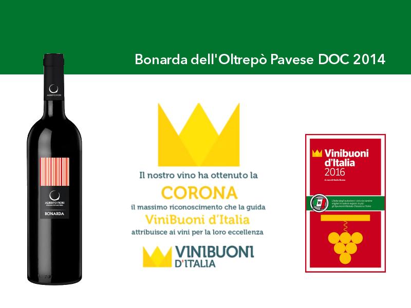 Riconoscimento Vinibuoni d'Italia - Corona 2016