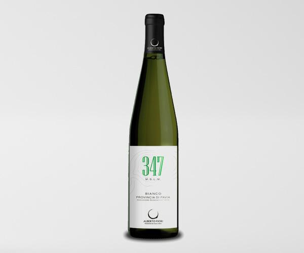 347 mslm Bianco Provincia di Pavia IGT - Valdamonte