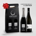 Confezione regalo natalizia 2 bottiglie - Valdamonte