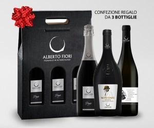 Confezione regalo natalizia 3 bottiglie - Valdamonte