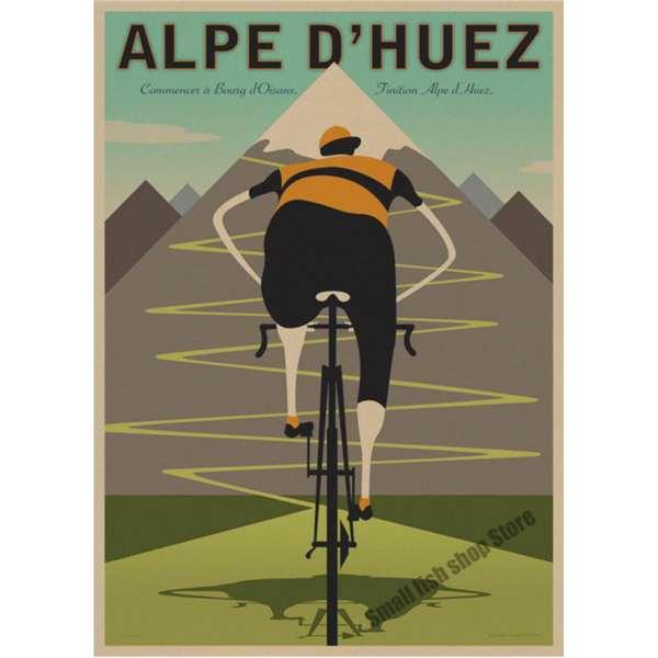 affiche vélo cyclisme