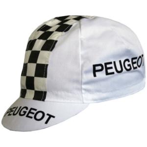 casquette cycliste vintage peugeot