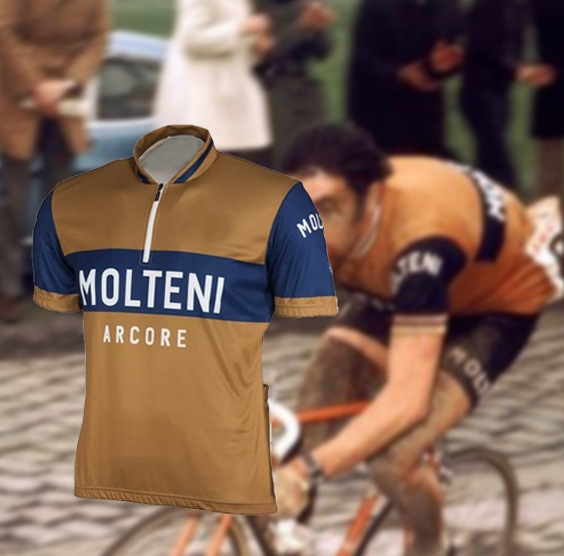 maillot cycliste vintage molteni merckx