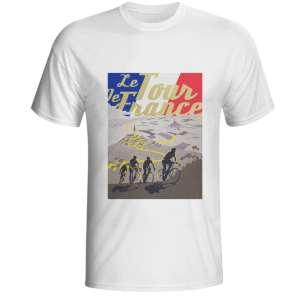 tshirt t-shirt tour de france vélo vintage