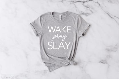 Wake, Pray, Slay Women's Short Sleeve Shirt