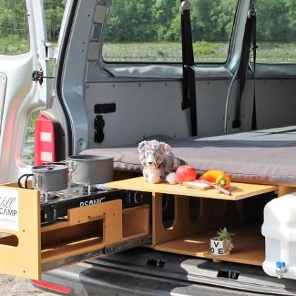 WellCAMP Auto Box Kochen, Schlafen