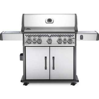 Rogue® SE 625 Propane Gas Grill with Infrared Rear and Side Burners, Stainless Steel