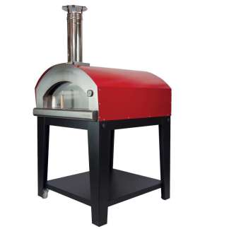Large Pizza  Oven Piu Trecento - Red Gas Fired Pizza Oven