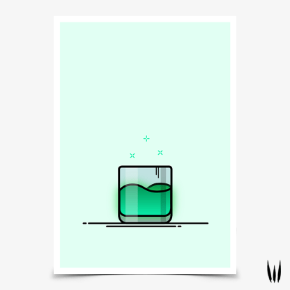 Destiny 2 Cayde's Drink gaming poster designed by WildeThang