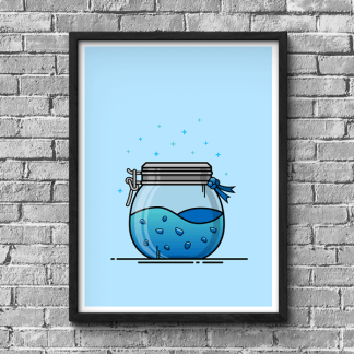 Fortnite Shield Potion gaming poster by WildeThang