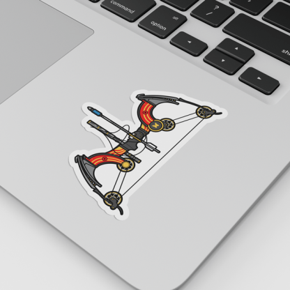 Destiny 2 Le Monarque Gaming Sticker designed by WildeThang