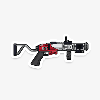 Destiny 2 The Mountaintop grenade launcher vinyl sticker designed by WildeThang