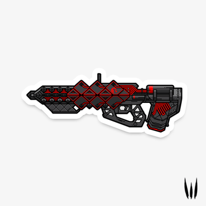 Destiny Outbreak Perfected vinyl sticker designed by WildeThang