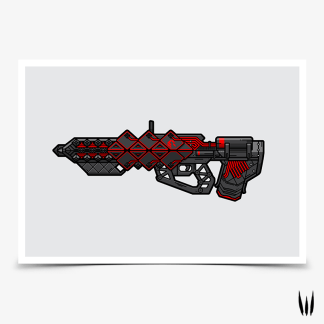 Destiny Outbreak Perfected gaming poster designed by WildeThang