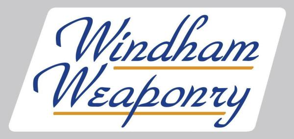 Windham Weaponry Logo Adhesive Sticker