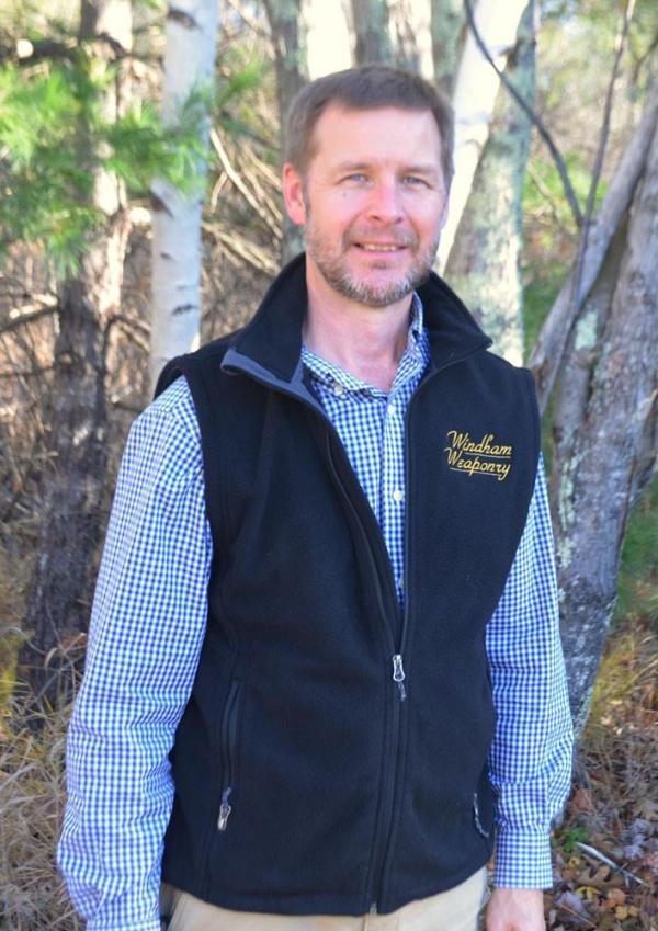 Windham Weaponry Black Fleece Vest for Men