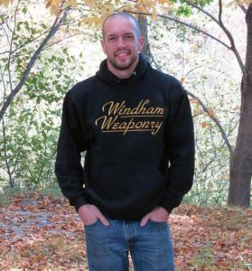 The Windham Weaponry Black Hoodie Sweat Shirt - for Men & Women