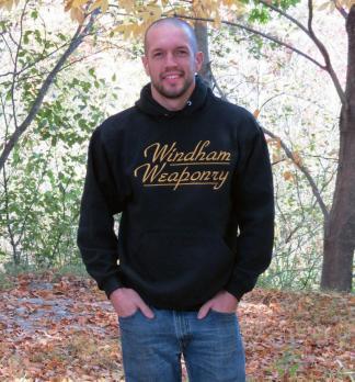 The Windham Weaponry Black Hoodie Sweat Shirt - for Men & Women