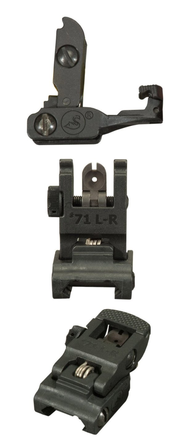 A.R.M.S. #71 Rear Flip Up Polymer Precision Sight for AR15 / M16