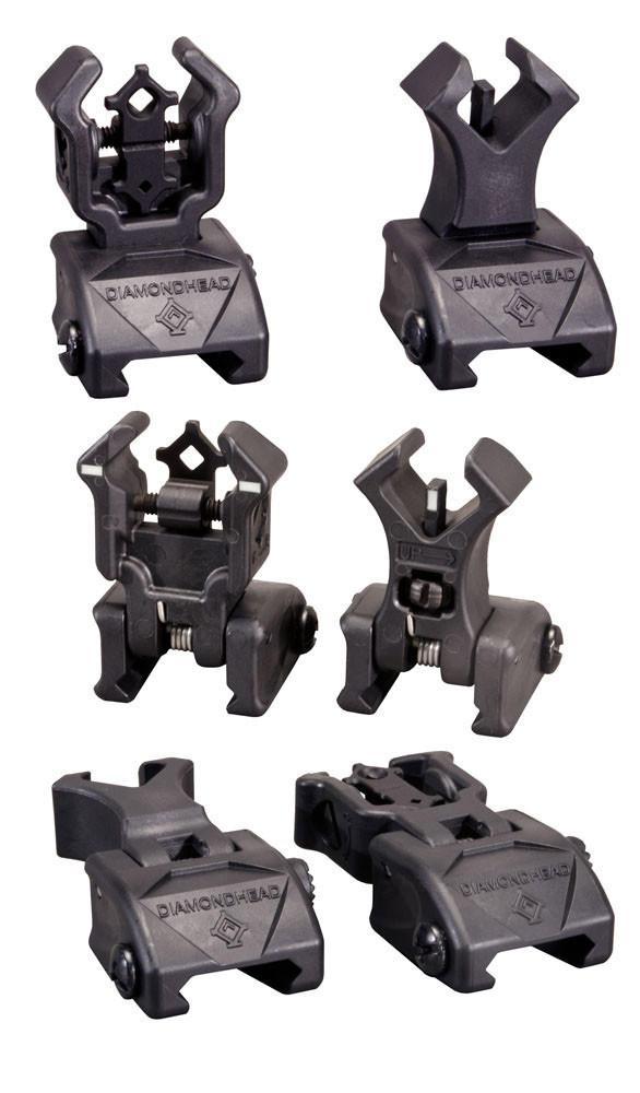 Diamondhead Poly Sight Set with NiteBrite Inserts